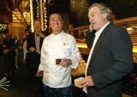 Chef says De Niro is hands-off partner in Nobu restaurant chain