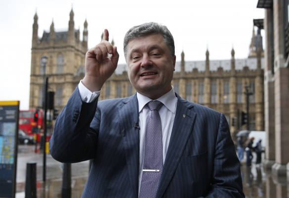 From communism to monopolistic capitalism in a single swoop. Petro Poroshenko