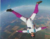 Skydiver survives after 12,000ft fall (video)