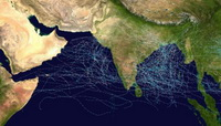 Tropical Cyclone Hits India's Coast near Mumbai
