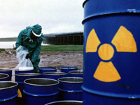 Illegal radioactive wastes kill Russians