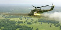 Slavyansk self-defense forces shoot down Mi-24 chopper. 52708.jpeg