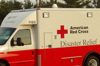 American Red Cross removes its president
