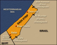 Gaza: Palestinian security chief killed