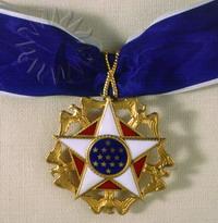 George W. Bush awards Presidential Medal of Freedom