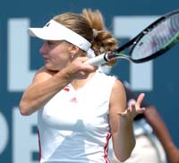 Chakvetadze beats Bammer to reach quarterfinals of Diamond Games