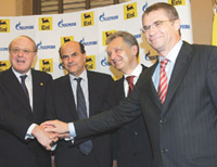 Gazprom and Eni to build 10bln Euro pipeline