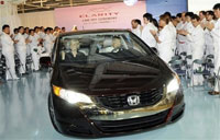 Honda earns 1.68 billion dollars in fiscal first quarter