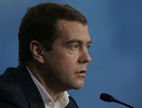 Russia's Medvedev Wants Modernisation For the Country
