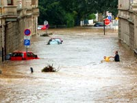 Europe once again submerged by torrential flooding