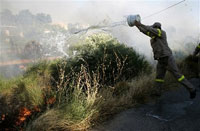 France, Italy and Cyprus help Greece fight forest fires on Rhodes Island