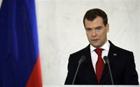 Medvedev Sees Russia as Highly Developed Superpower with Technologies of the Future