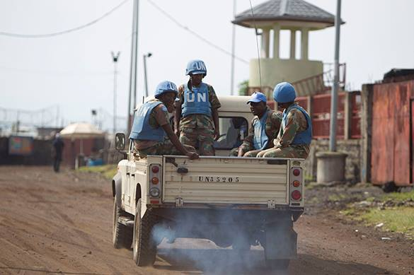 UN peacekeepers accused of 100 African children rape. UN peacekeepers