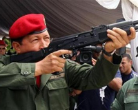 Russian arms help Chavez launch guerrilla warfare against USA