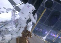Astronauts prepare for high-stakes spacewalk