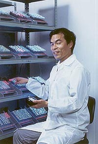 U.S.A.: Shuji Nakamura awarded Millennium Technology Prize for inventions in laser technology