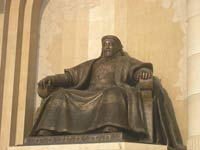Mongolian conqueror Genghis Khan banned homosexuality