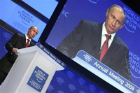 Putin urges Europe not to fog his mind