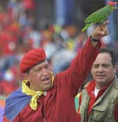 Chavez says Venezuela to buy planes from Russia because U.S. blocks Brazil deal