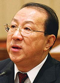 Chinese Finance Minister resigns