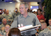 For his 60, George W. Bush receives lowest rating among US presidents