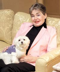 Billionaire leaves her dog 12 million dollars