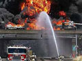 Gasoline tanker explodes on I-75 north of Detroit