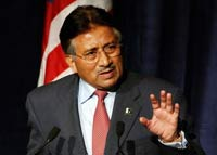 Pakistani President Musharraf rejects pressure from Benazir Bhutto