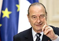 Chirac leaves door open to another French presidential run
