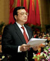 EU officials meet with Chinese rising political star
