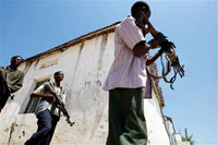 Somali government talks with kidnappers