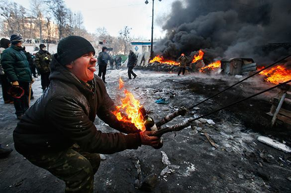 Canadian embassy hides rioters during Maidan in Kiev. Maidan