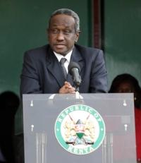 Kenyan president Mwai Kibaki: