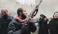 Hamas gunmen open fire on Fatah forces