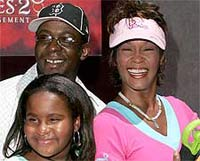 Whitney Houston, Bobby Brown battle over custody of daughter