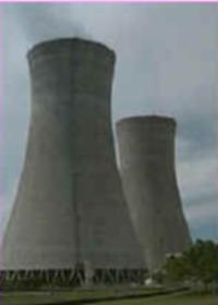 Stanton Energy Plant on fire