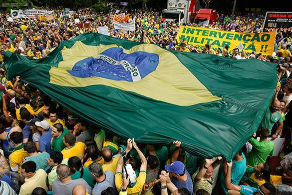 Pravda.Ru warned: USA orchestrates mass demonstrations in Brazil. 54749.jpeg