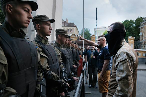 Western Ukraine: fascists to break into Poland. Ukraine