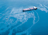 Two tankers collide in Singapore spilling 224 tons of oil