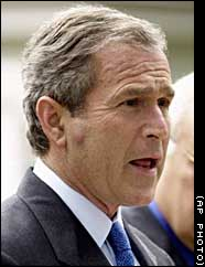 Bush is in the scandal with Iraq's weapon again