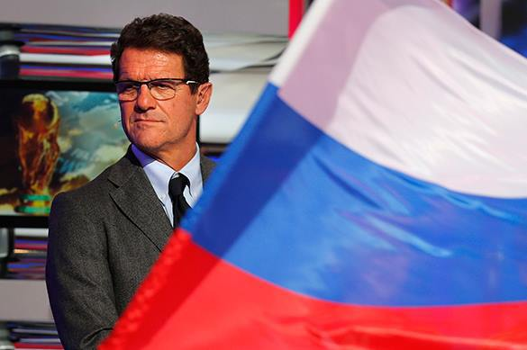 Most high-paid coach and Russian football team bow out. Capello