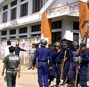 150 arrested in student's clash with police in Nepal