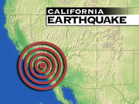 Earthquake in Los Angeles troubles everyone but monks