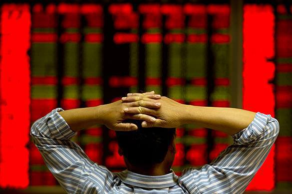 Chinese stock market collapse due to trading scam. Chinese stock market falls