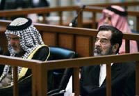 Saddam Hussein's Kurdish genocide trial resumes after a 10-day break