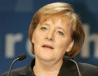 German Chancellor backs stronger sanctions against Iran