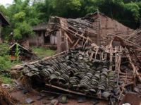 Torrential rains in China cause people's deaths