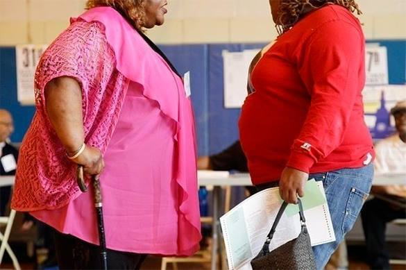 US taxpayers pay .5 mln to study lesbians' obesity. Obesity