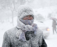 Chinese Snowstorms Kill 40
