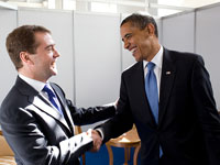 Obama and Medvedev Share Busy Weekend